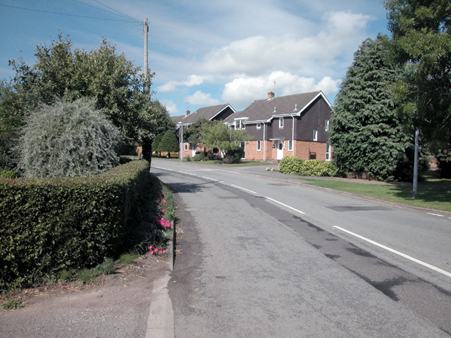 Mickle Trafford village