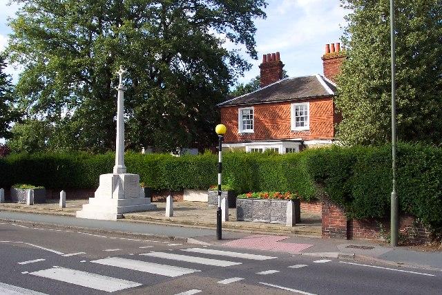 War memorial, Horsell