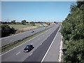 SJ4473 : M56 Motorway by Dennis Turner