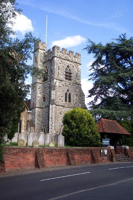 Horsell church