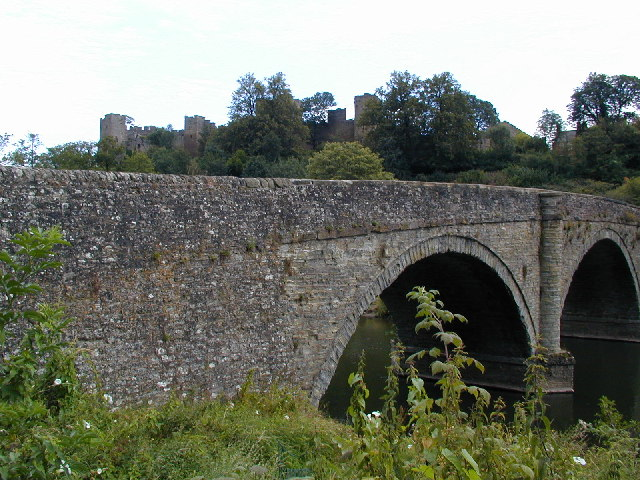 Bridge and castle
