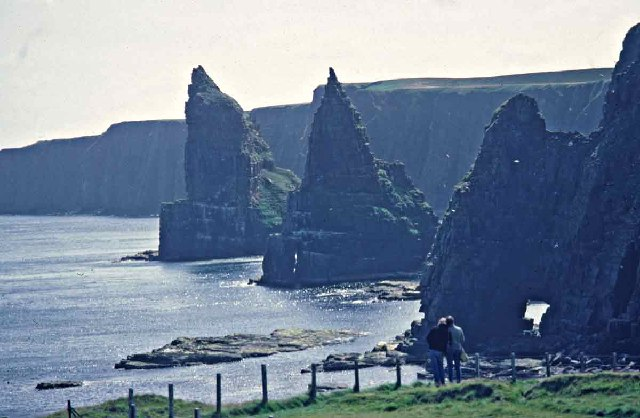 Cliff top looking towards the Stacks of Duncansby