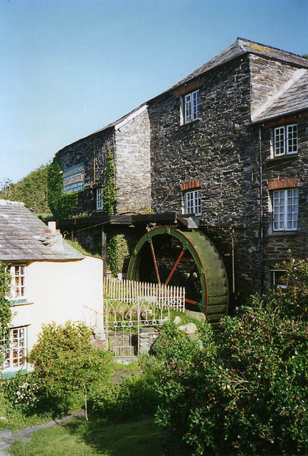 Forrabury and Minster: Boscastle Old Mill or Bridge Mill
