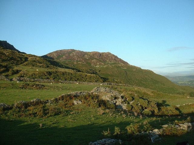 East summit of Moel y Gest