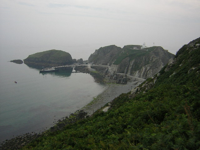 MS Oldenburg moored at Lundy