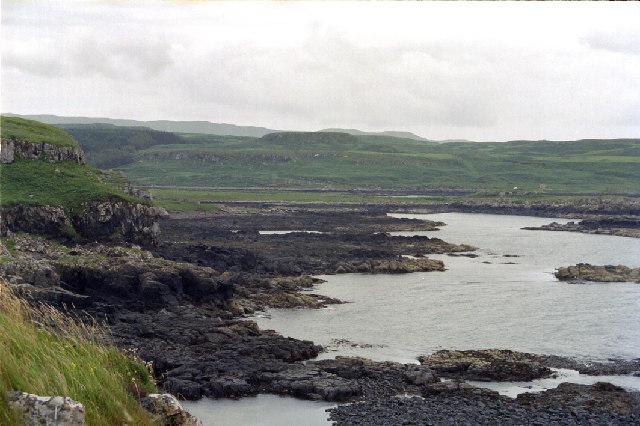 Laorin Bay from Dun Ara
