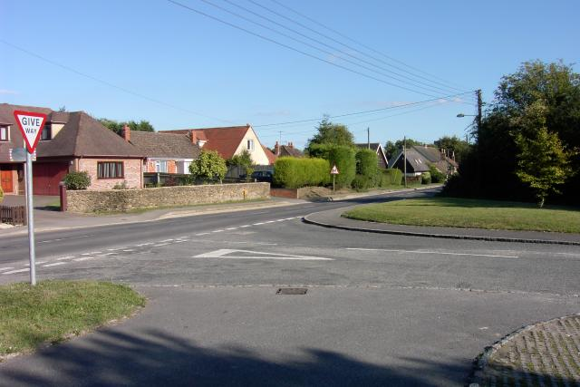 Junction in Cumnor