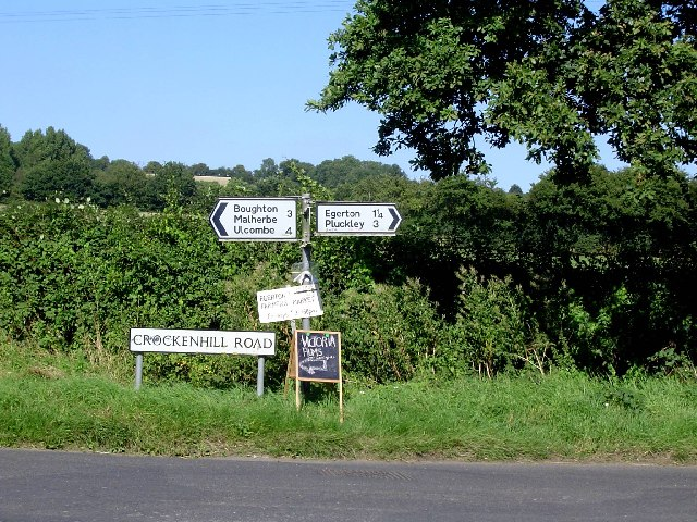 Signs in Egerton Forstal