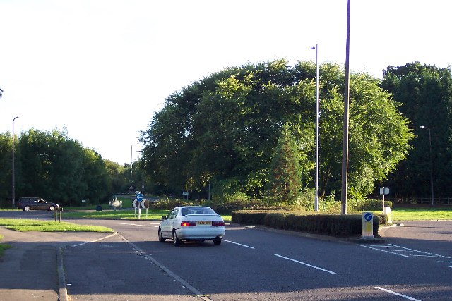 Mayford roundabout