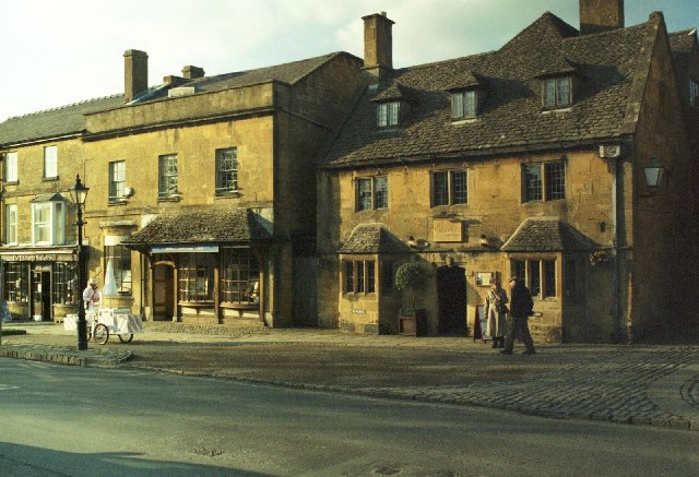 High Street, Broadway in the Cotswolds