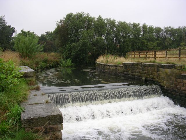 Weir on the River Irk