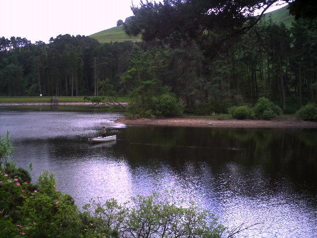 Fly Fishing on Glencorse Reservoir