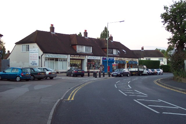 Local shops at Westfield