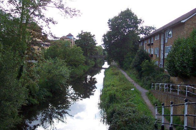 The Basingstoke Canal in Woking