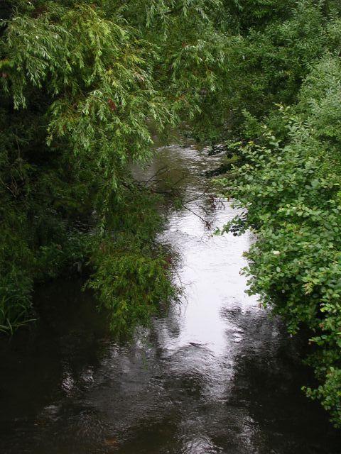 River Tame from the Alma Bridge