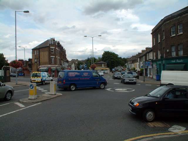 Endwell Road at Brockley Cross SE4