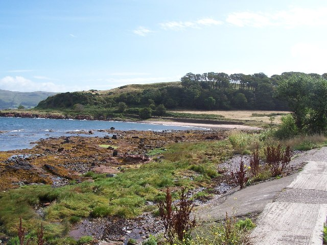 Cumbrae, White bay