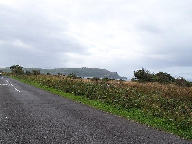 Cumbrae, Road at Doughend hole