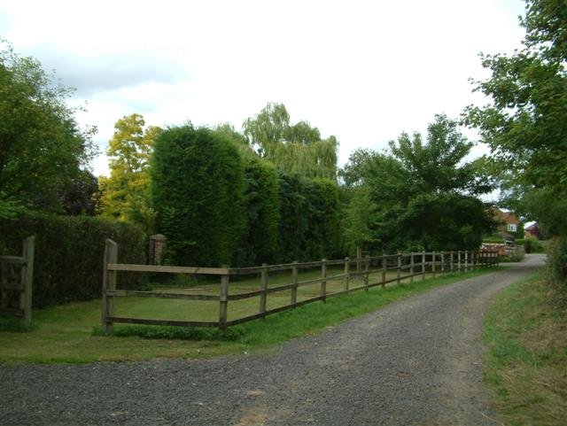 The lane to the Church