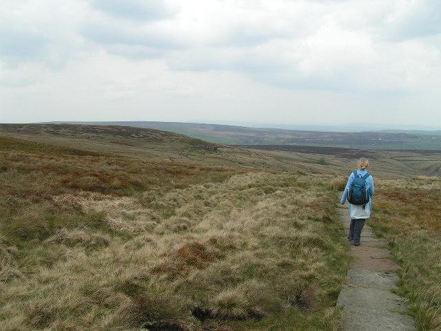 Pennine Way, Dick Delf Hill