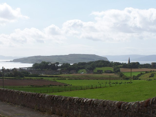 Cumbrae, View from Ninians Brae