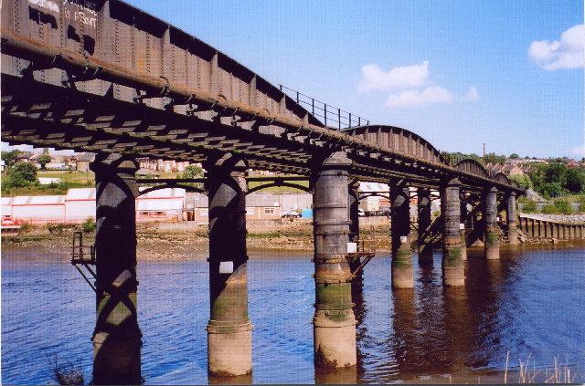 Scotswood railway bridge