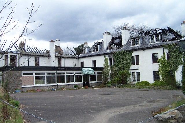 Hotel that was, Kinloch Rannoch