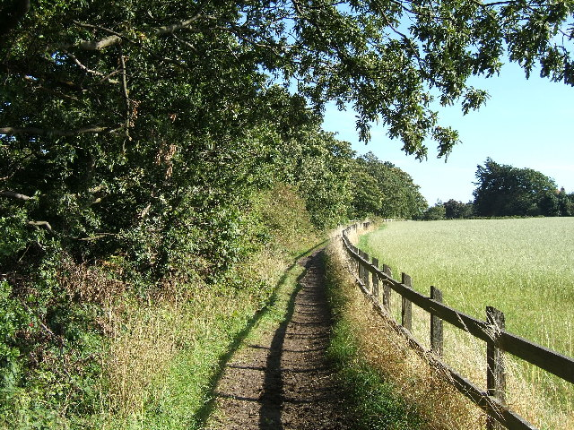 Public footpath from Frankby Road to Montgomery Hill