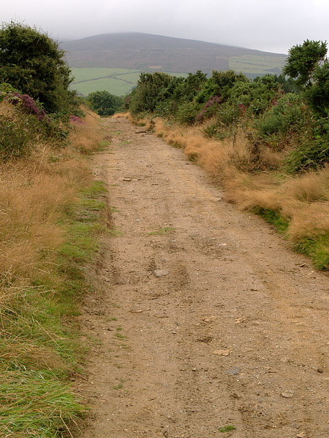 Ballamona Road, near Archallagan.  Isle of Man.