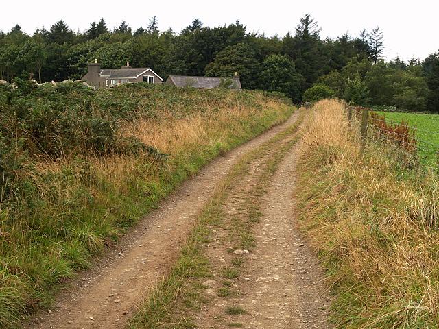 Eairy Kelly road.    Isle of Man.