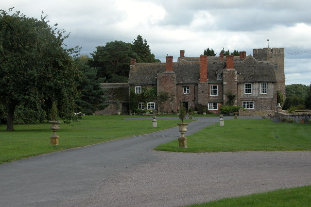 Monnington Court and Church