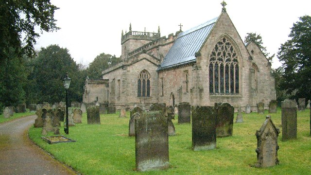 All Saints Church,  Sudbury, Derbyshire