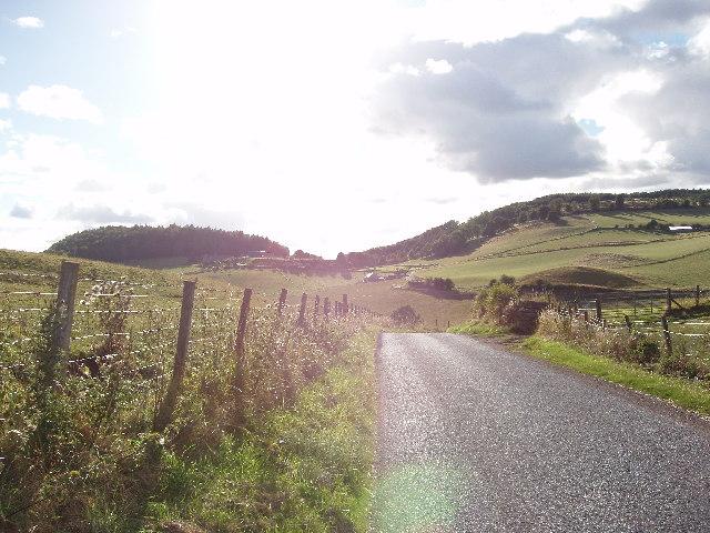 Idyllic Perthshire Countryside