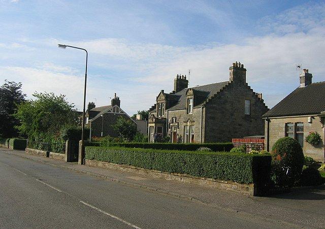 Victorian houses, Broxburn