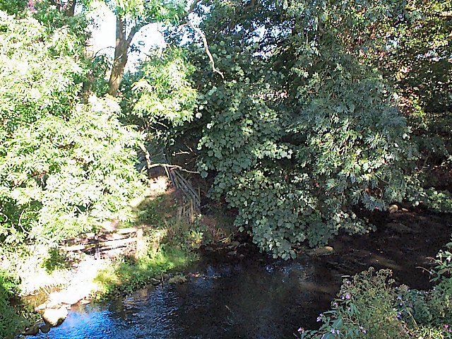 River Washburn at Leathley