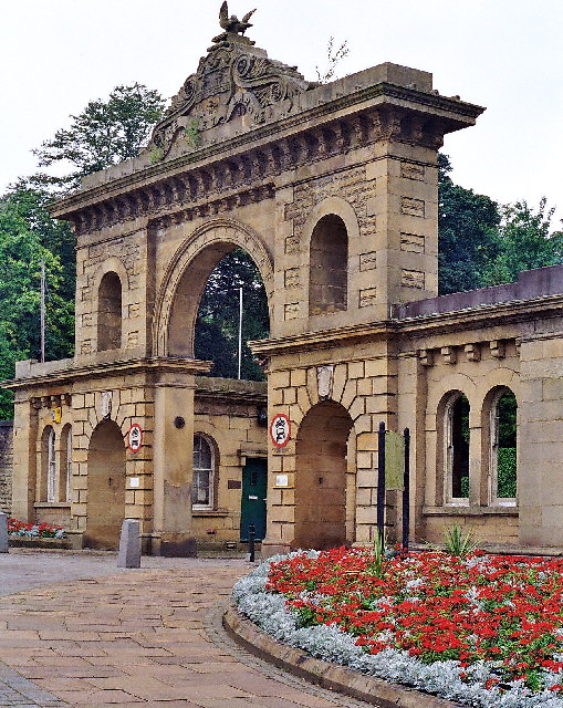 Park Gates, Corporation Park, Blackburn
