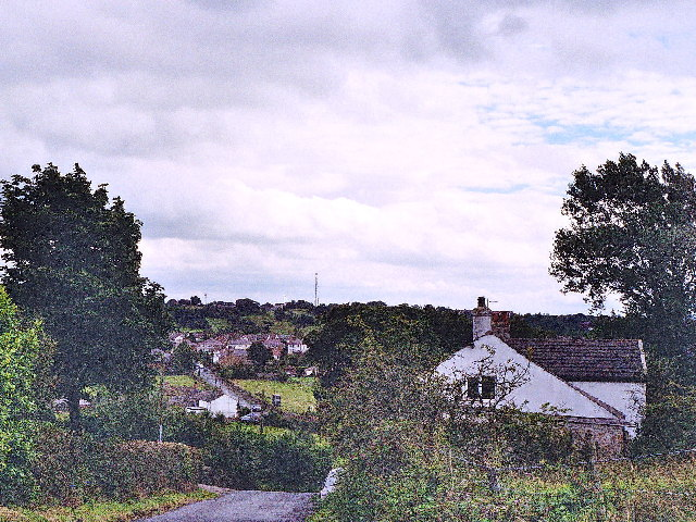 Looking down Whinney Lane