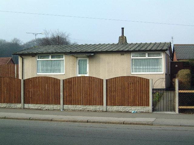 Prefab style home, Bulwell