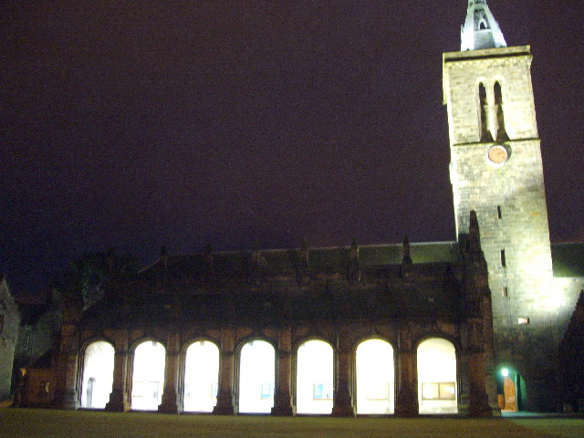 St Salvator's Chapel by Night