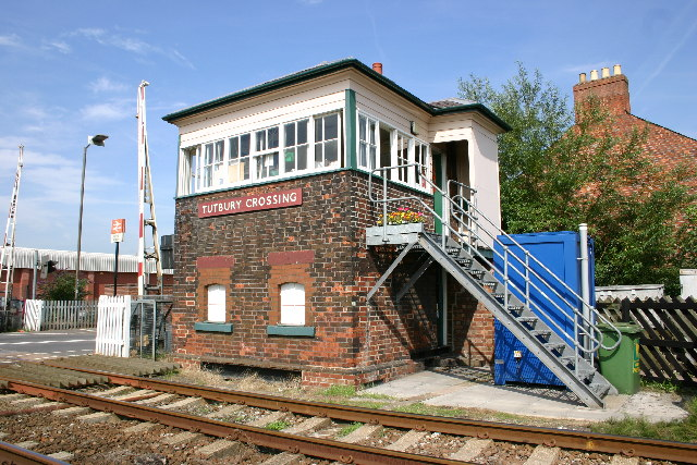 Tutbury & Hatton Station Signalbox