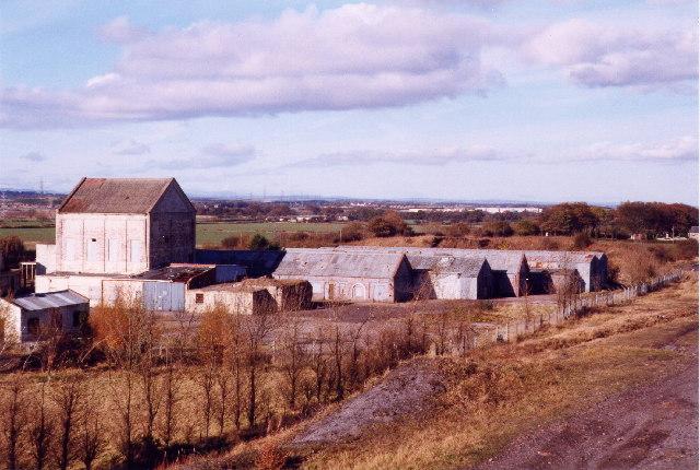 Old Fenwick Colliery buildings