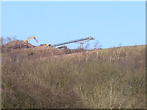 ST1282 : Taffs Well Quarry by gj
