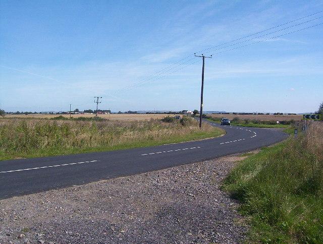 Main Road from Newton to Sutton on Derwent