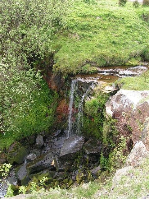Waterfall below Lumb Farm