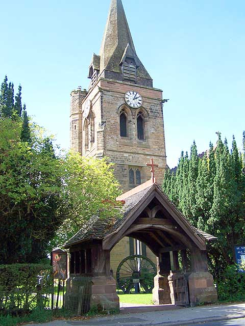 Underwood Church and Lychgate