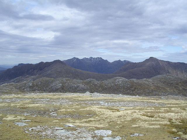 Eastern flank of Beinn a'Chaisgein Mor