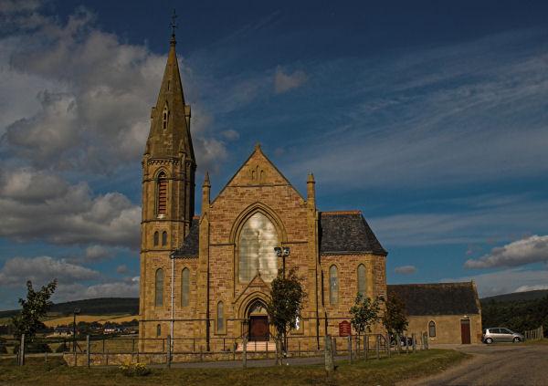 Roskeen Church