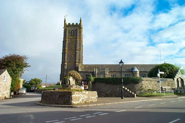 Church at St Buryan