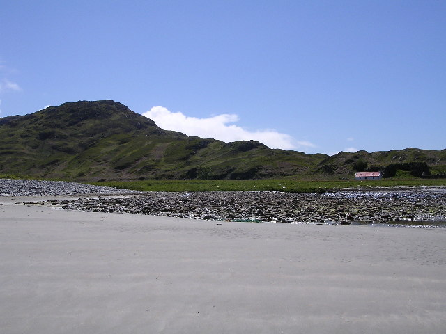 Glengarrisdale Bay and Bothy