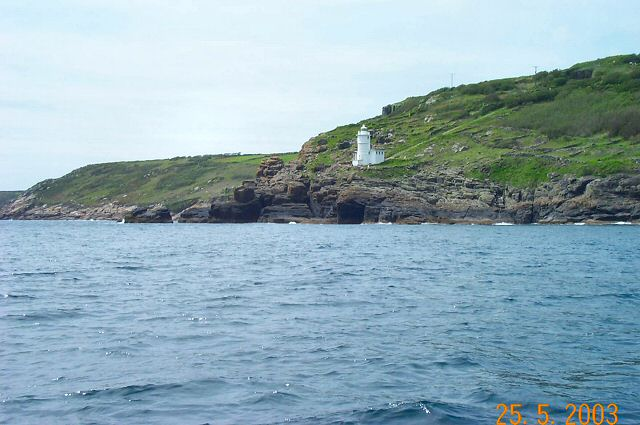 Tater Du lighthouse - West Cornwall